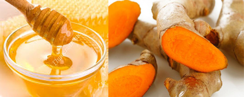 chữa đau dạ dày với nghệ và mật ong