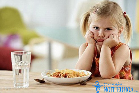 bé bị rối loạn tiêu hóa nên ăn gì?